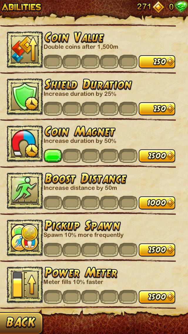 Temple Run 2 Abilities