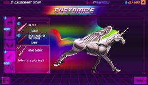 Robot Unicorn Attack 2 Customize