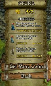 Temple Run Brave Outfits