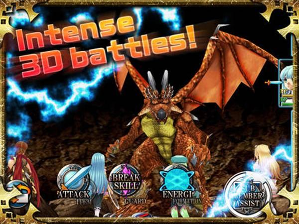 Alphadia Genesis Battle System