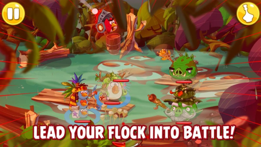 Angry Birds Epic Turn Based Battle