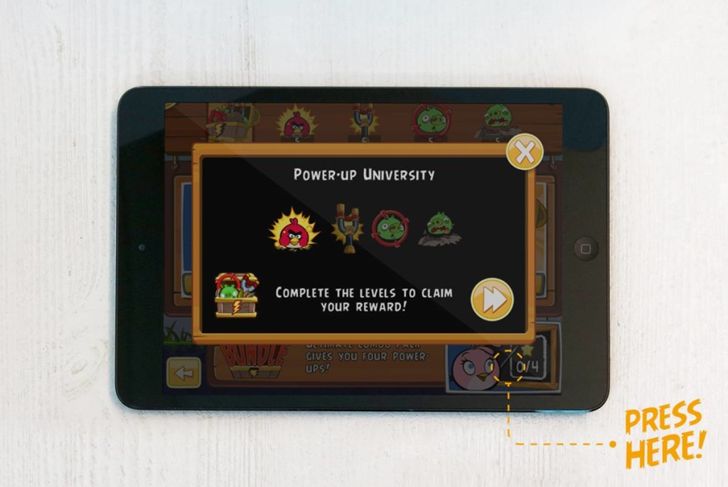 Angry Birds Power-up University