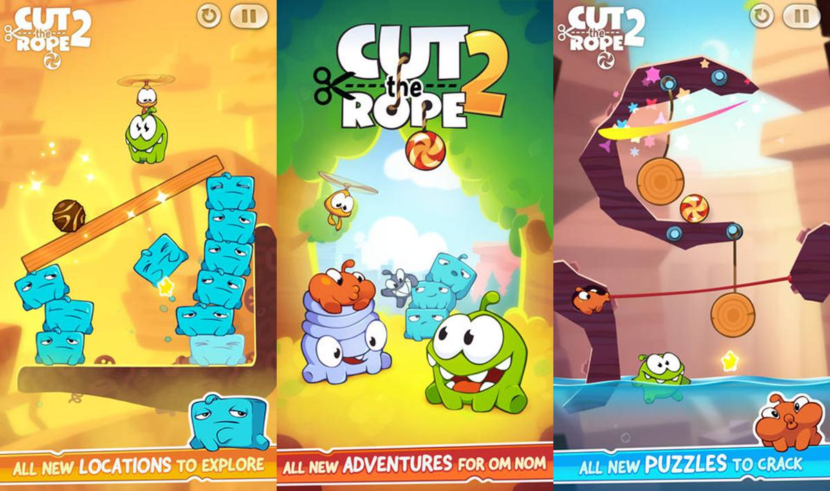 Cut The Rope 2 Cheats Tips