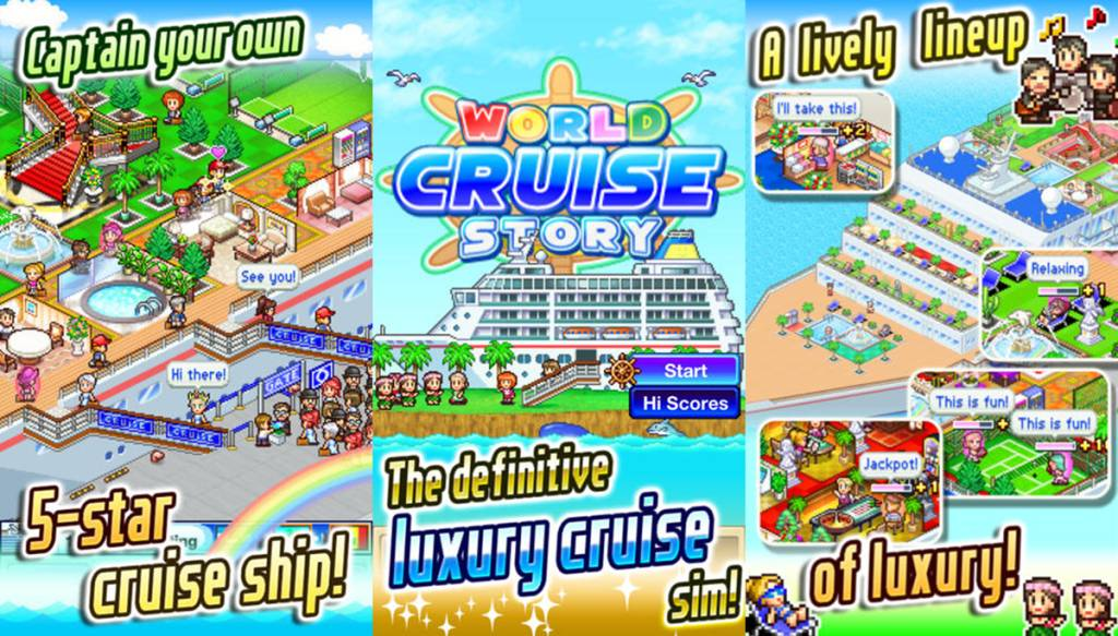 World Cruise Story Kairsoft Game