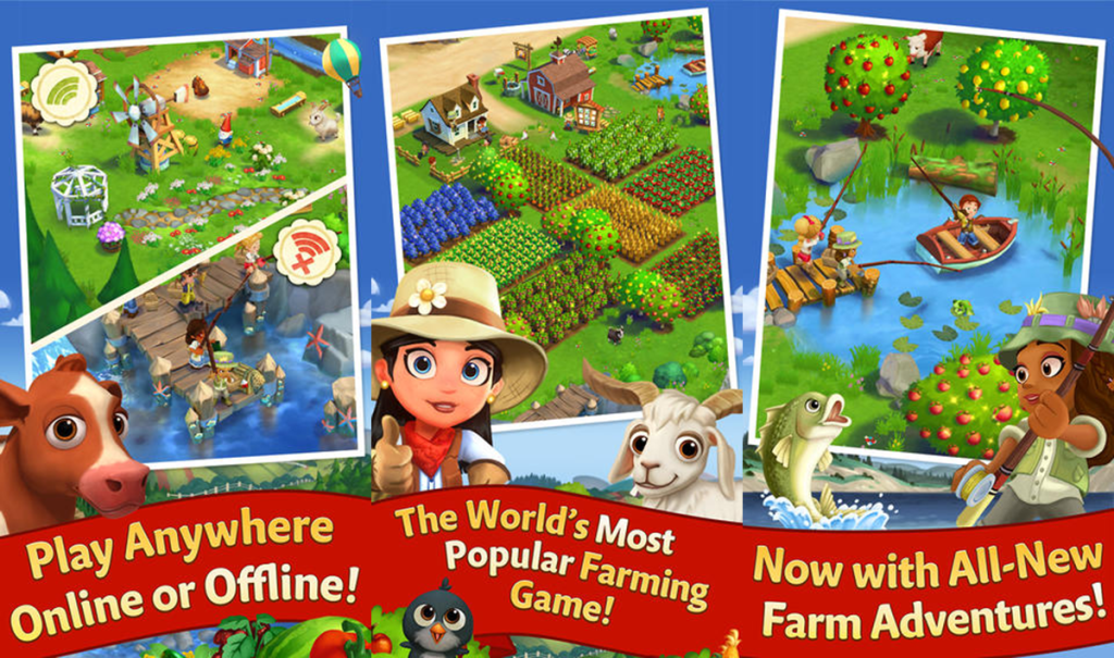 Zynga Releases FarmVille 2: Country Escape For Mobile Devices With New