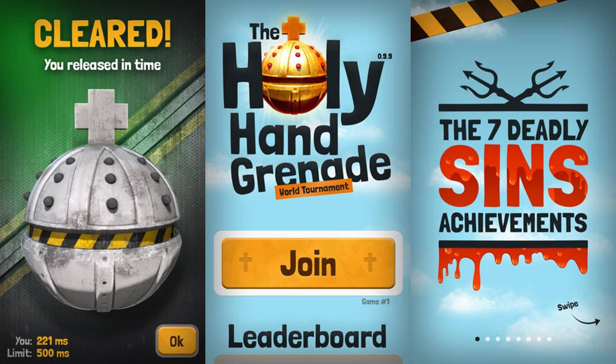 The Holy Hand Grenade App Store