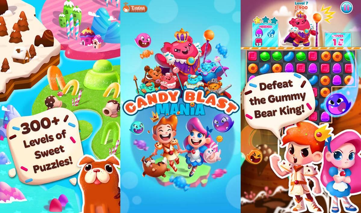 Candy Blast Mania Cheats Tips