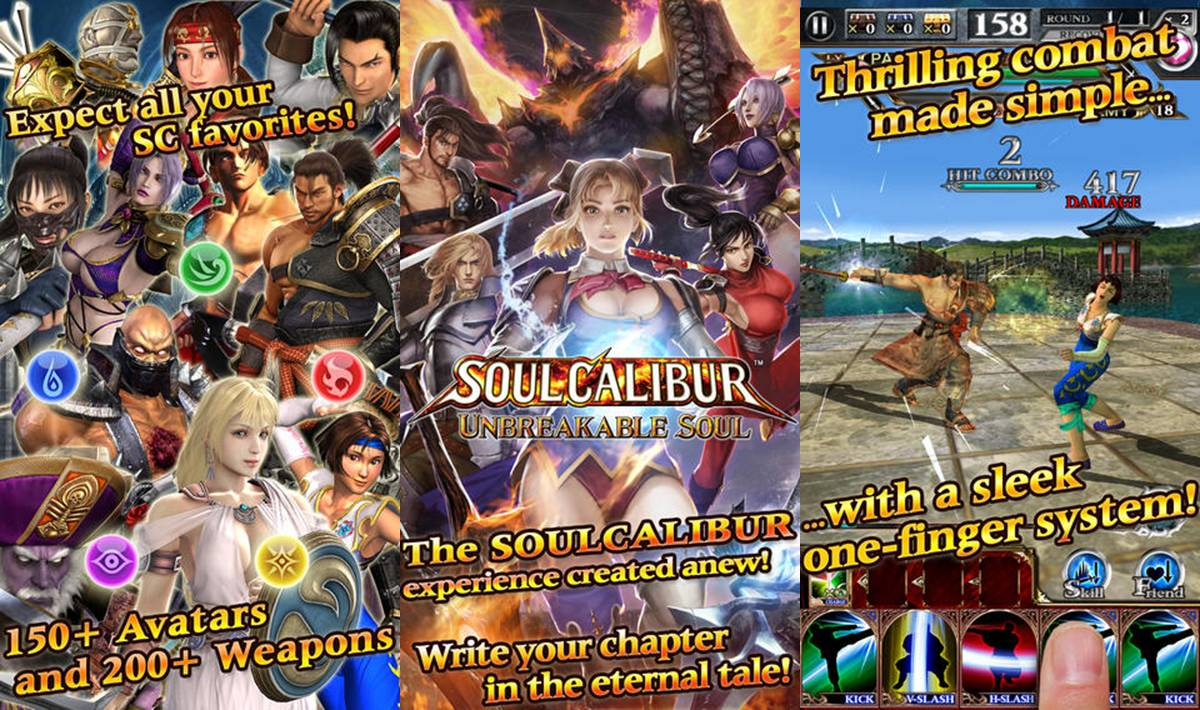 Soul Calibur Unbreakable Soul Download