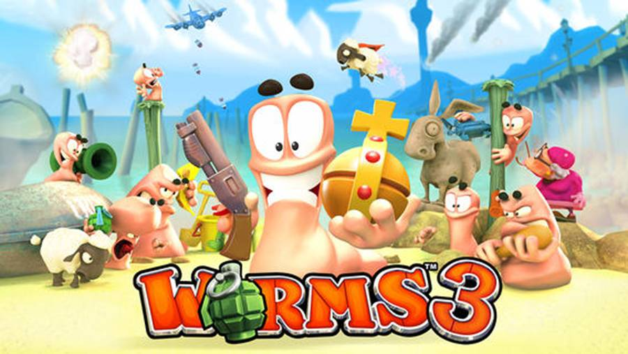 Worms 3 Play Store