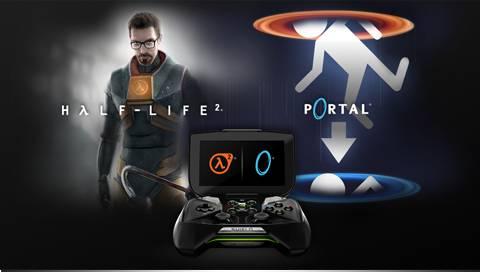 Half Life 2 Portal Nvidia Shield Announce