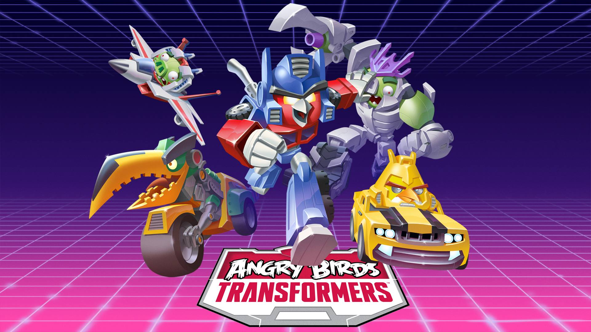 Angry Birds Transformers Game