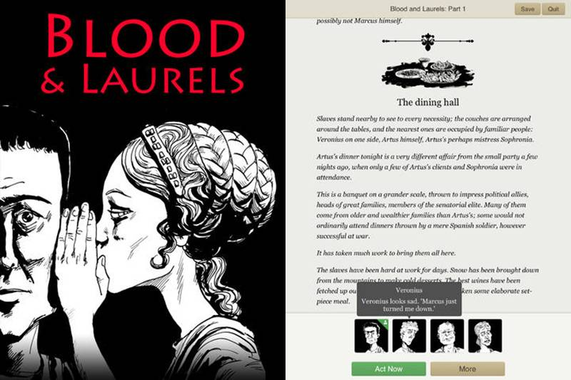 Blood & Laurels App Store