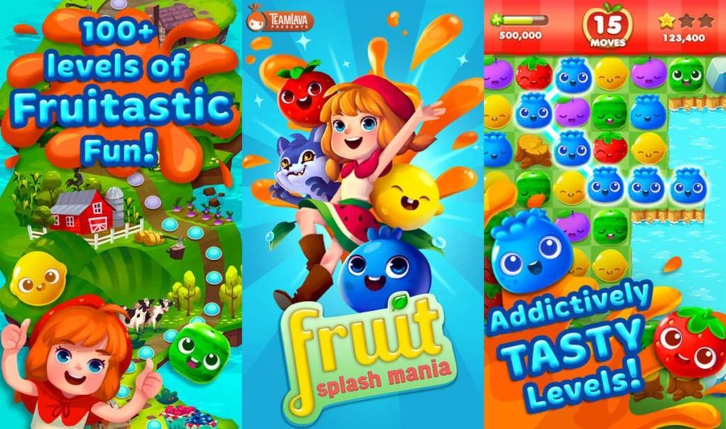 Fruit Splash Game