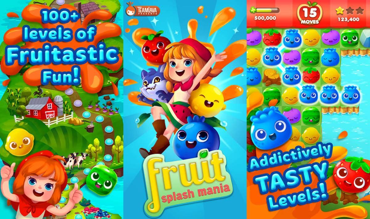 Fruit Splash Mania Cheats Tips