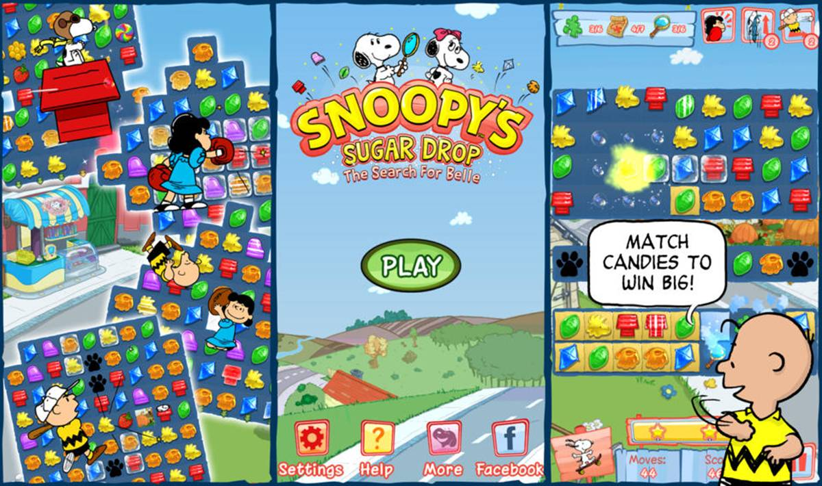Snoopy's Sugar Drop Cheats & Tips