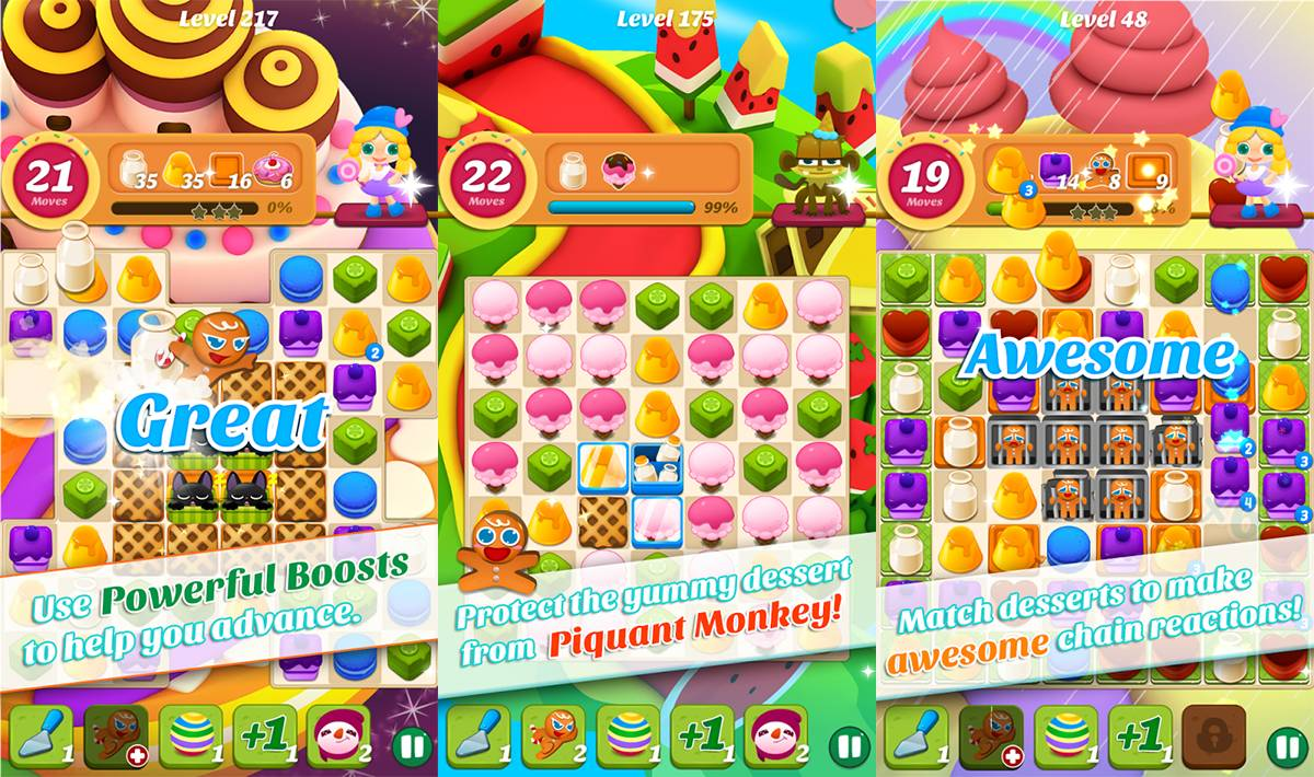 Yummy Mania Cheats & Tips